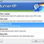 Zrëszenié programë  CDBurnerXP